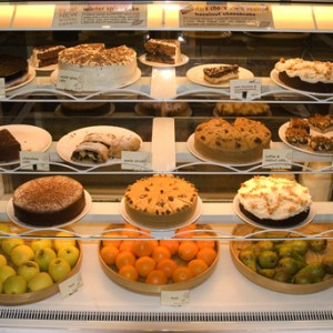 Food in Earth vegetarian café