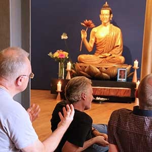 Buddhism Class in Lotus Hall