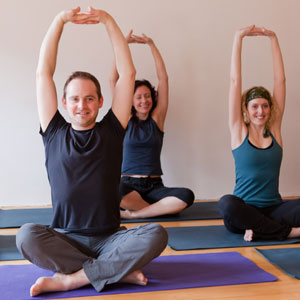 People in a Bodywise yoga class